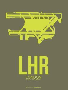 Lhr London Poster 3 by NaxArt