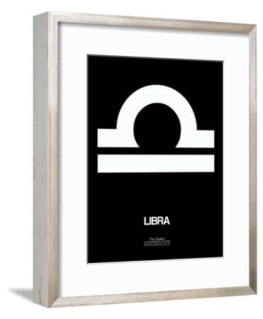 Libra Zodiac Sign White