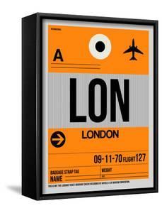 LON London Luggage Tag 1 by NaxArt