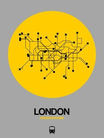 London Yellow Subway Map