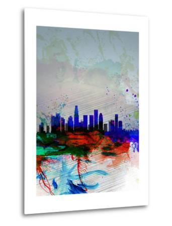 Los Angeles Watercolor Skyline 1