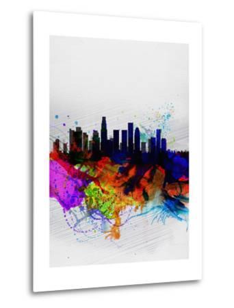 Los Angeles Watercolor Skyline 2
