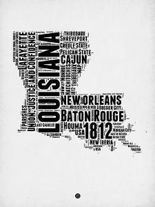Louisiana Word Cloud 2 by NaxArt
