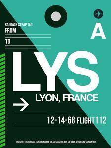 LYS Lyon Luggage Tag II by NaxArt