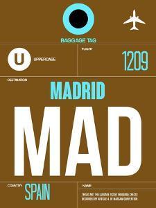 MAD Madrid Luggage Tag 1 by NaxArt