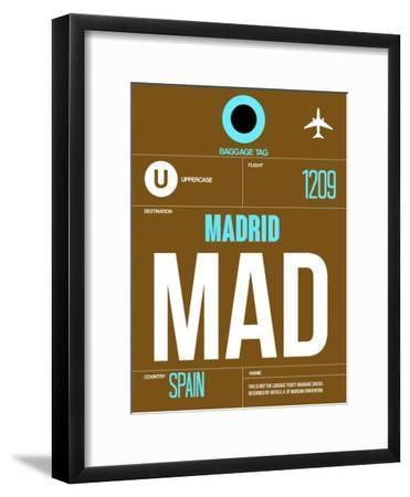 MAD Madrid Luggage Tag 1