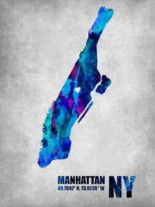 Manhattan New York by NaxArt