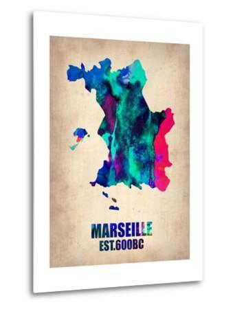 Marseille Watercolor Poster