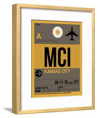 MCI Kansas City Luggage Tag 1