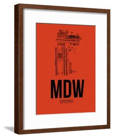 MDW Chicago Airport Orange
