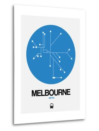 Melbourne Blue Subway Map