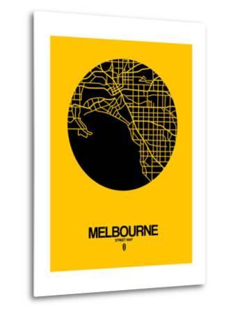 Melbourne Street Map Yellow