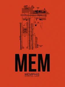 MEM Memphis Airport Orange by NaxArt