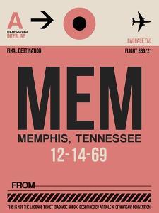 MEM Memphis Luggage Tag II by NaxArt