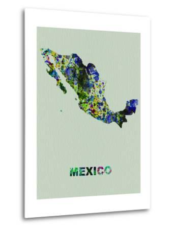 Mexico Color Splatter Map