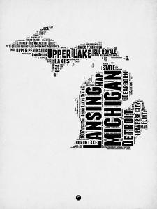 Michigan Word Cloud 2 by NaxArt