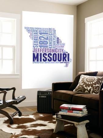 Missouri Word Cloud Map