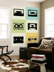 Mix Tape Poster by NaxArt