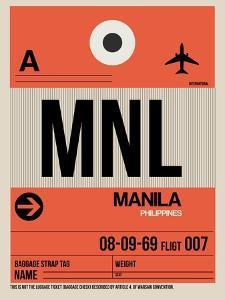 MNL Manila Luggage Tag I by NaxArt