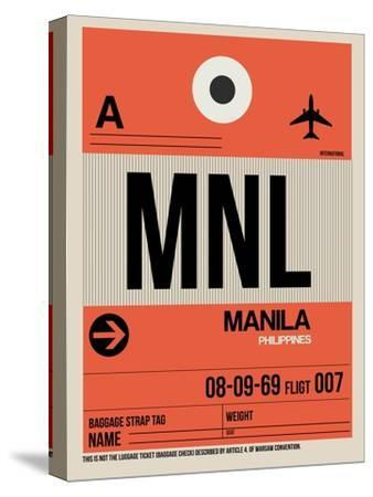 MNL Manila Luggage Tag I