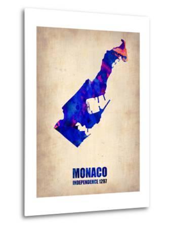 Monaco Watercolor Poster