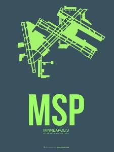 Msp Minneapolis Poster 2 by NaxArt