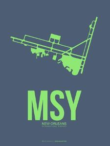 Msy New Orleans Poster 2 by NaxArt