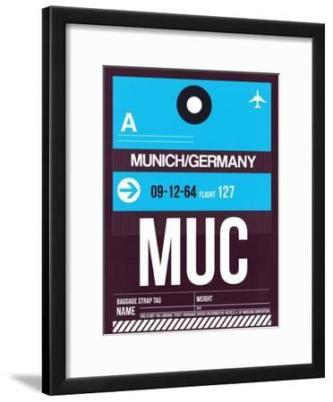 MUC Munich Luggage Tag 1