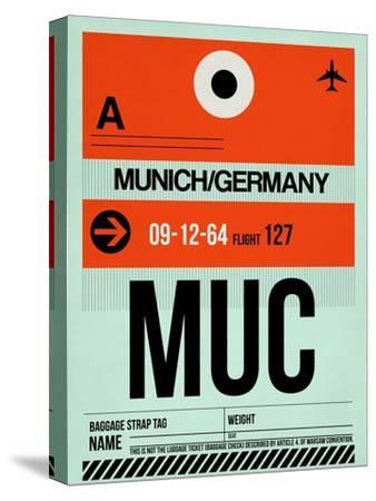 MUC Munich Luggage Tag 2