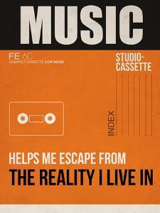 Music Is Escape by NaxArt