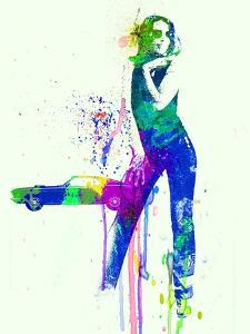 Mustang Girl 2 by NaxArt