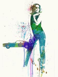 Mustang Girl by NaxArt