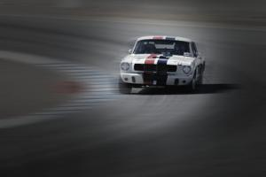 Mustang on the racing Circuit by NaxArt