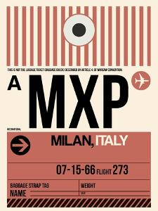 MXP Milan Luggage Tag 1 by NaxArt