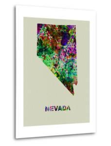 Nevada Color Splatter Map by NaxArt