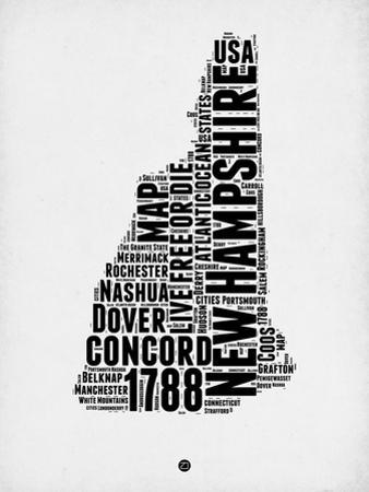 New Hampshire Word Cloud 2 by NaxArt