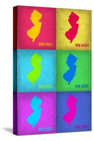 New Jersey Pop Art Map 1