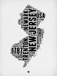New Jersey Word Cloud 2 by NaxArt