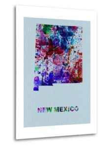 New Mexico Color Splatter Map by NaxArt