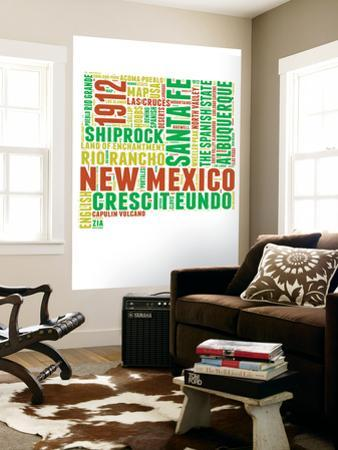 New Mexico Word Cloud Map