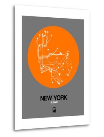 New York Orange Subway Map
