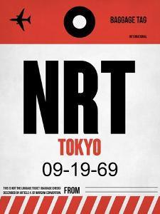 NRT Tokyo Luggage Tag 1 by NaxArt