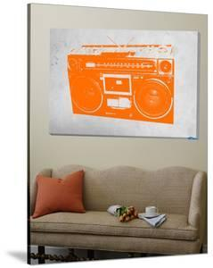Orange Boom Box by NaxArt