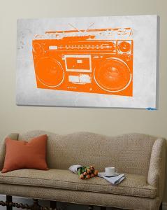 Orange Boom Box by NaxArt