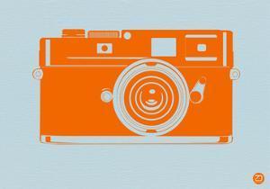 Orange Camera by NaxArt