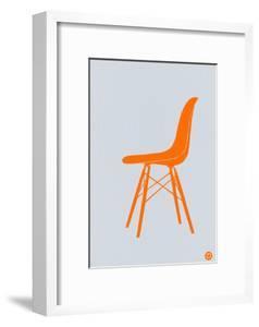 Orange Eames Chair by NaxArt