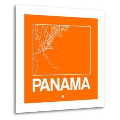 Orange Map of Panama