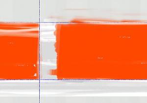 Orange Rectangle by NaxArt