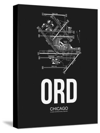 ORD Chicago Airport Black