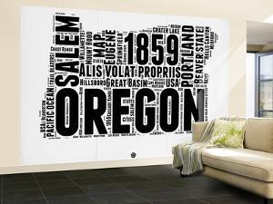 Oregon Word Cloud 1 by NaxArt
